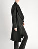 Vivienne Westwood Red Label Black Wool Draped Coat - Amarcord Vintage Fashion  - 7