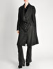 Vivienne Westwood Red Label Black Wool Draped Coat - Amarcord Vintage Fashion  - 2