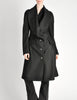 Vivienne Westwood Red Label Black Wool Draped Coat - Amarcord Vintage Fashion  - 3