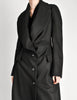 Vivienne Westwood Red Label Black Wool Draped Coat - Amarcord Vintage Fashion  - 5