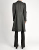 Vivienne Westwood Red Label Grey Felted Wool Coat