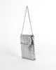 Whiting & Davis Vintage Silver Mesh Shoulder Bag - Amarcord Vintage Fashion  - 3