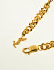 YSL Vintage Gold Brutalist Arty Bubble Necklace