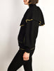 Yves Saint Laurent Vintage Black Capelet Collar Knit Sweater Jacket - Amarcord Vintage Fashion  - 6