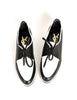 YSL Vintage Black & White Leather Creeper Sneakers - Amarcord Vintage Fashion  - 2