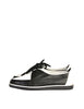 YSL Vintage Black & White Leather Creeper Sneakers - Amarcord Vintage Fashion  - 1