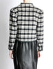 Saint Laurent Rive Gauche Vintage Plaid Wool Bolero Cropped Jacket - Amarcord Vintage Fashion  - 6