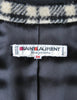 Saint Laurent Rive Gauche Vintage Plaid Wool Bolero Cropped Jacket - Amarcord Vintage Fashion  - 7
