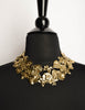 Yves Saint Laurent Vintage Flowers Hearts and Bows Necklace