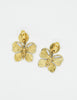 YSL Vintage Gold Butterfly Earrings - Amarcord Vintage Fashion  - 5