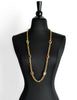 YSL Vintage Multicolor Jewel Gold Necklace - Amarcord Vintage Fashion  - 3