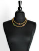 YSL Vintage Multicolor Jewel Gold Necklace - Amarcord Vintage Fashion  - 2