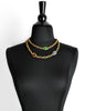 YSL Vintage Multicolor Jewel Gold Necklace - Amarcord Vintage Fashion  - 4