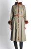 Yves Saint Laurent Vintage Green Mink and Sheared Beaver Coat - Amarcord Vintage Fashion  - 3