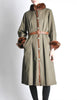 Yves Saint Laurent Vintage Green Mink and Sheared Beaver Coat - Amarcord Vintage Fashion  - 5