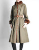 Yves Saint Laurent Vintage Green Mink and Sheared Beaver Coat - Amarcord Vintage Fashion  - 4
