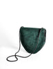 Yves Saint Laurent Vintage Green Suede Crossbody Bag - Amarcord Vintage Fashion  - 6