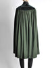 Saint Laurent Rive Gauche Vintage Green Wool Velvet Cape - Amarcord Vintage Fashion  - 7