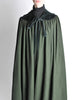 Saint Laurent Rive Gauche Vintage Green Wool Velvet Cape - Amarcord Vintage Fashion  - 5