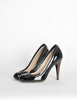 YSL Black Patent Leather Zipper Heels - Amarcord Vintage Fashion  - 3