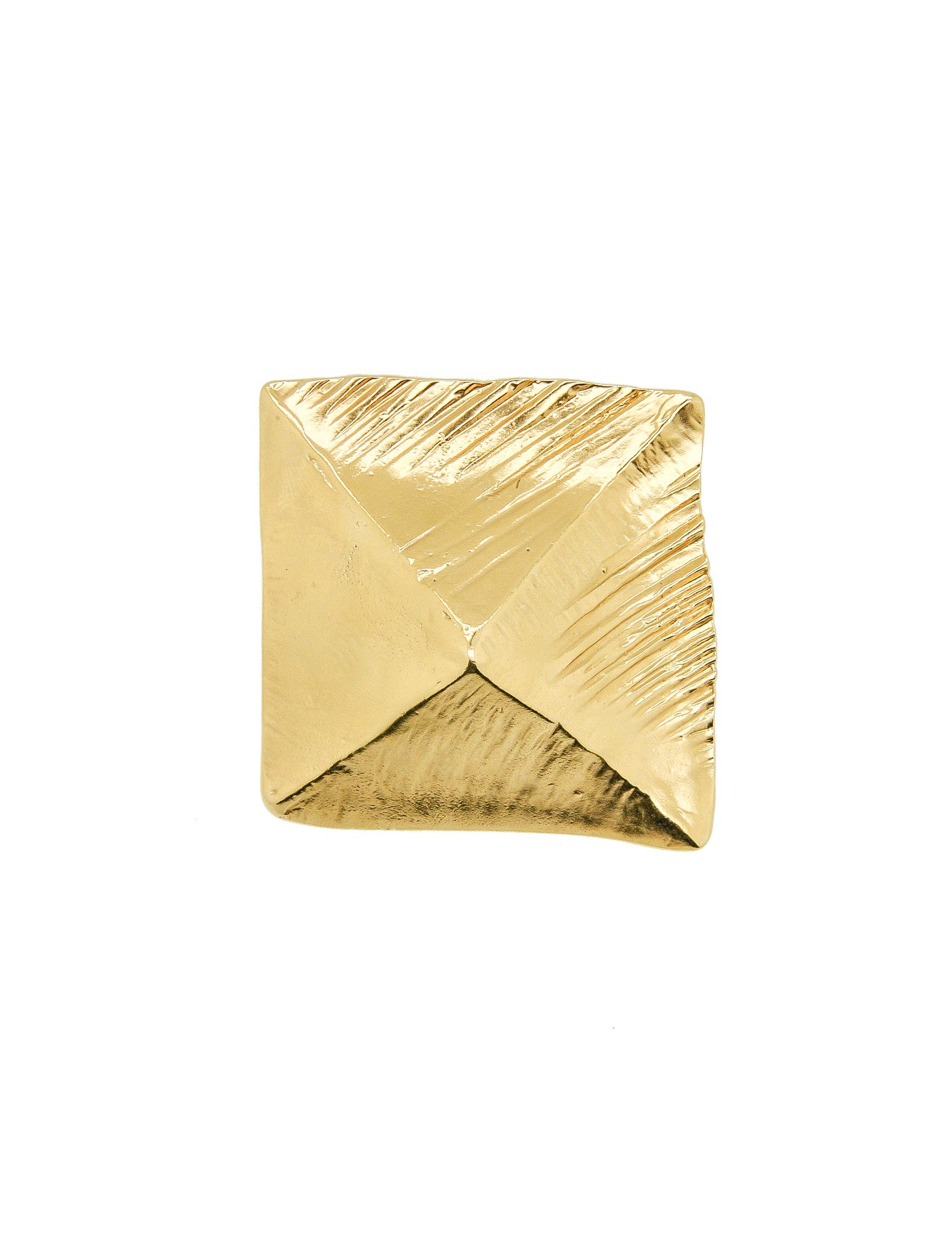 bittar gold earring post product goldpyramidpostearring pyramid stud alexis img