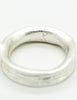 YSL Vintage Silver Carved Artisan Ring - Amarcord Vintage Fashion  - 5