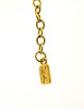 Yves Saint Laurent Vintage Triple Row Gold Chain Necklace