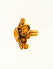 Yves Saint Laurent Vintage Gold Modernist Arty Ring