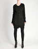 Yohji Yamamoto Vintage Black Knit Long Sweater - Amarcord Vintage Fashion  - 3