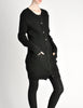 Yohji Yamamoto Vintage Black Knit Long Sweater - Amarcord Vintage Fashion  - 4