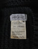 Yohji Yamamoto Vintage Black Knit Long Sweater - Amarcord Vintage Fashion  - 6