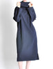 Yohji Yamamoto Vintage Navy Blue Buckle Dress - Amarcord Vintage Fashion  - 4