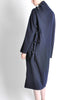 Yohji Yamamoto Vintage Navy Blue Buckle Dress - Amarcord Vintage Fashion  - 9