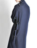 Yohji Yamamoto Vintage Navy Blue Buckle Dress - Amarcord Vintage Fashion  - 10