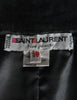Saint Laurent Rive Gauche Vintage Black Suede Skirt - Amarcord Vintage Fashion  - 6