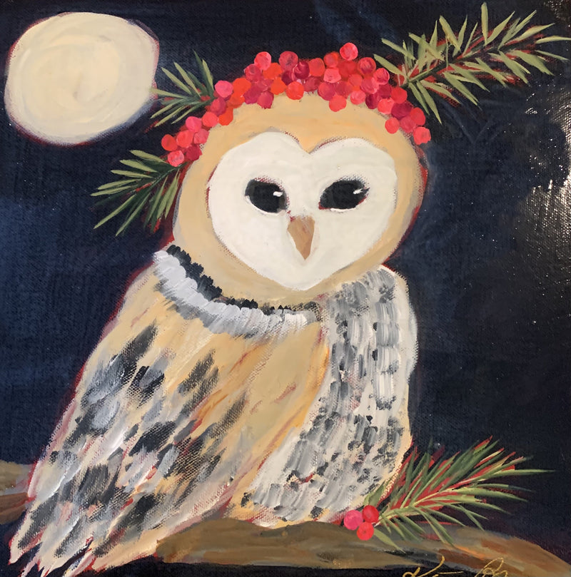 12x12 Goodnight Owl