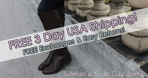 Buy Women's Wide Calf Boots