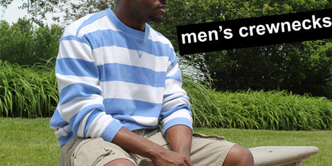 men's crewneck sweatshirts