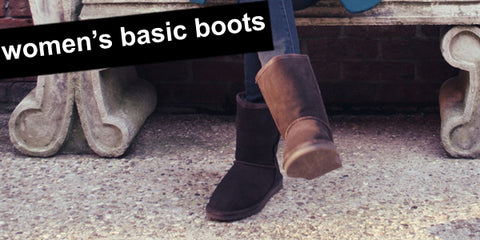 women's basic warm lined boots