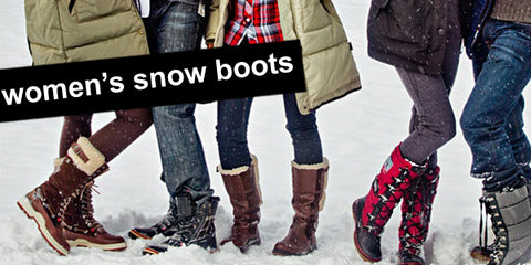 women's warm lined snow boots