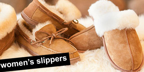 women's comfortable sheepskin slippers