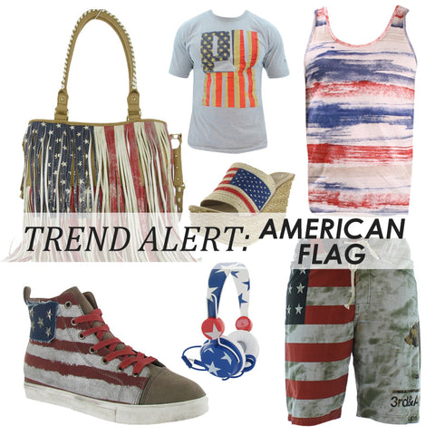 Trent Alert: American Flag Gear at Street Moda