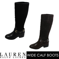 Buy Lauren Ralph Lauren Wide Calf Boots