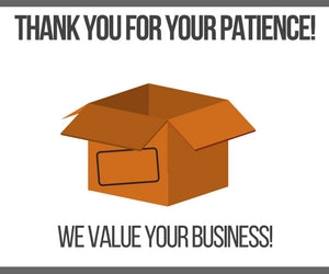We Value Your Business!