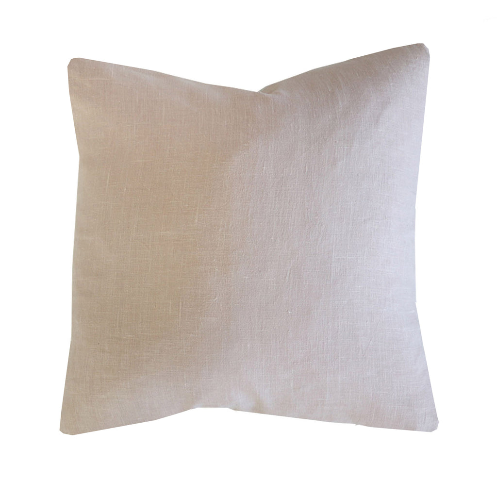 French Linen Pillow Cover in Blush-The California Collection