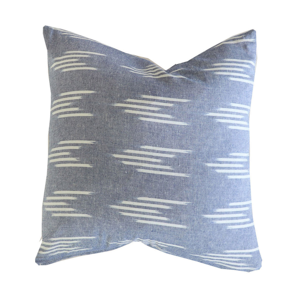 Handcrafted Monterey Pillow Cover In Chambray-Monterey-The Montara Collection