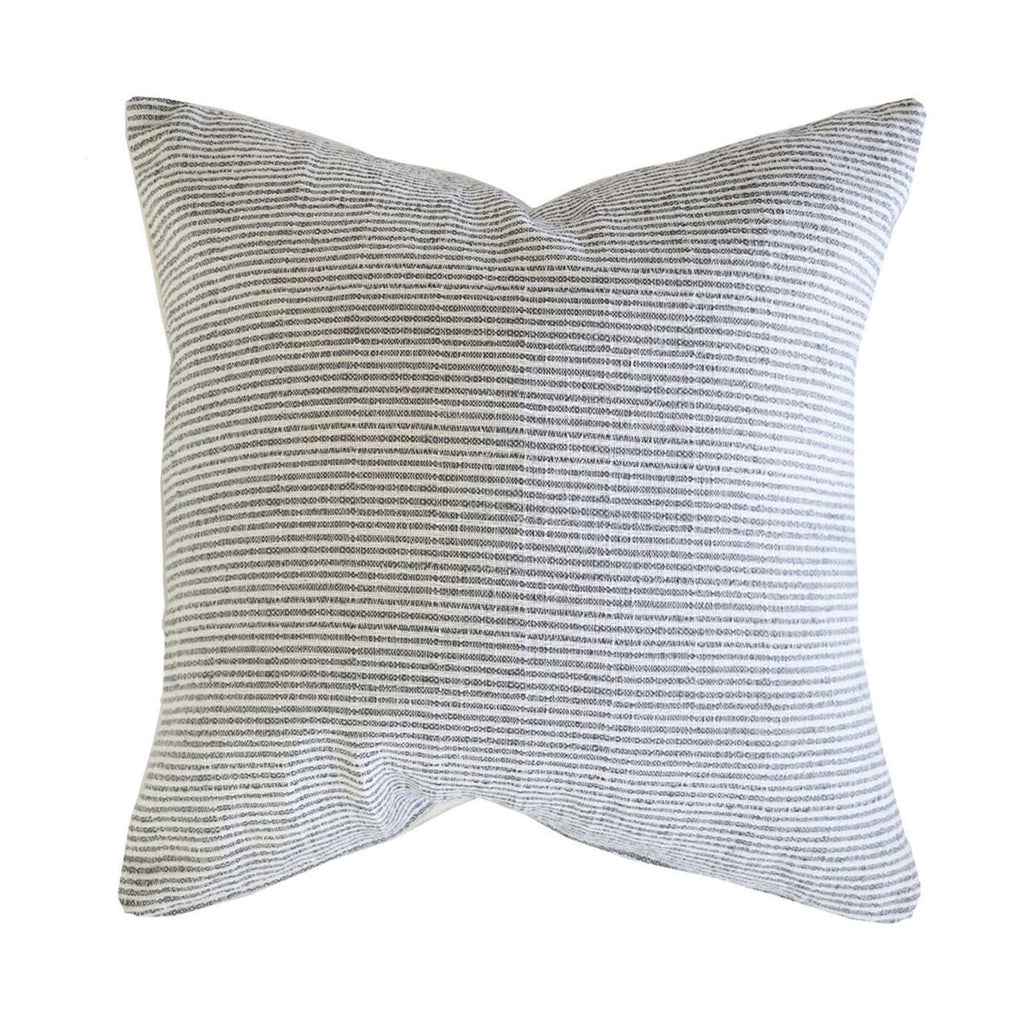 Handcrafted Sonoma Pillow Cover In Black and Cream-Sonoma
