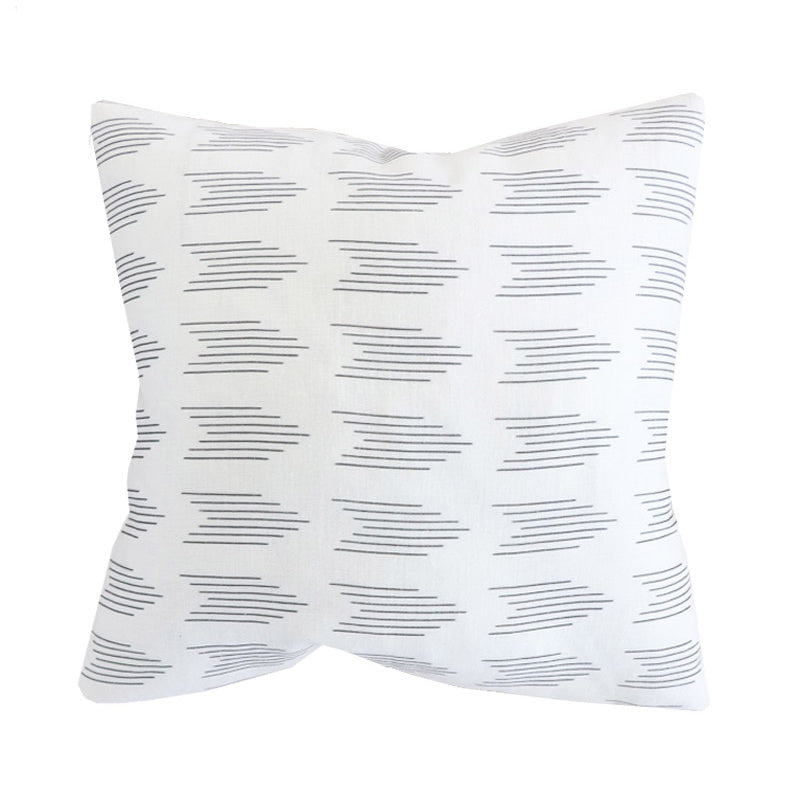 Handcrafted Finley Arrow Pillow Cover In Night-Finley Arrow-The Montauk Collection