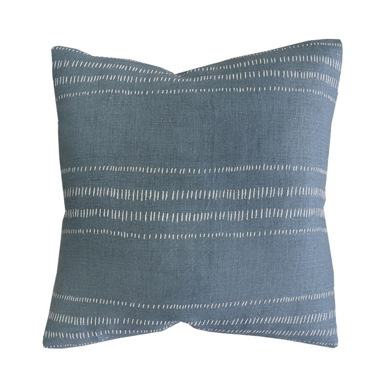 Handcrafted Glennmore Pillow Cover In Moody Sage-Glennmore-The Montauk Collection