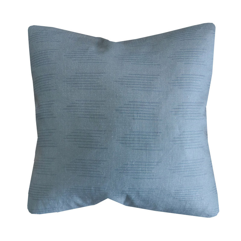 Handcrafted Finley Arrow Pillow Cover In Dark Sea-Finley Arrow-The Montauk Collection